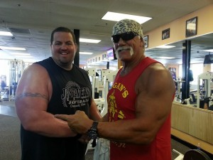 Jimmy B and Hulk Hogan