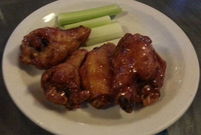 Barbeque Wings at Jimmy B's