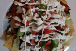Loaded Nachos at Jimmy B's
