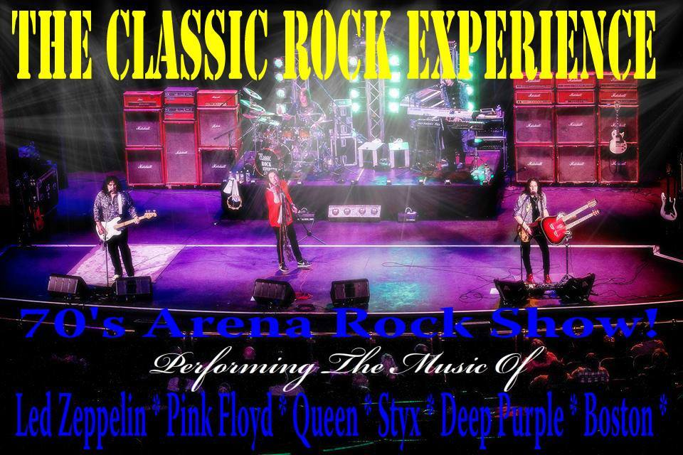 Classic Rock experience on stage
