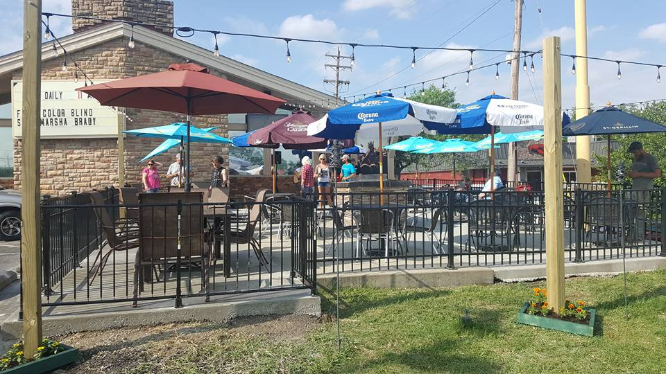Patio upgrade at Jimmy B's Bar and Grill