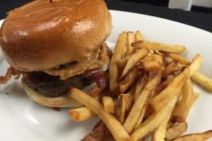 Rock N Bacon Burger